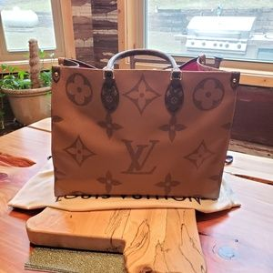 Authentic Louis Vuitton Reverse Onthego Tote
